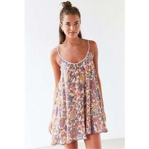 Kimchi Blue lace-up side mini dress size M NWOT